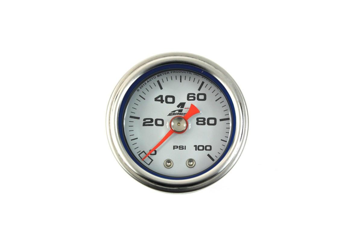 Uniwersalny zegar regulatora ciśnienia paliwa Aeromotive - GRUBYGARAGE - Sklep Tuningowy